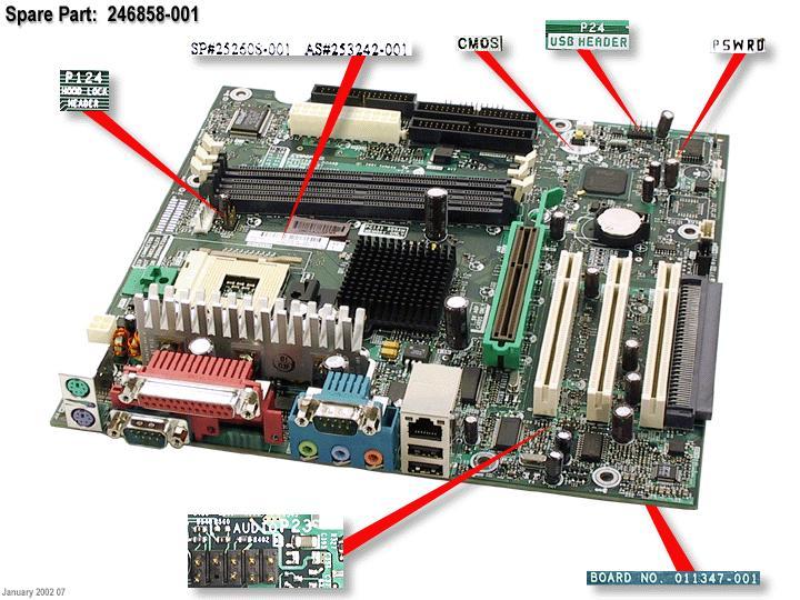 system board pc133